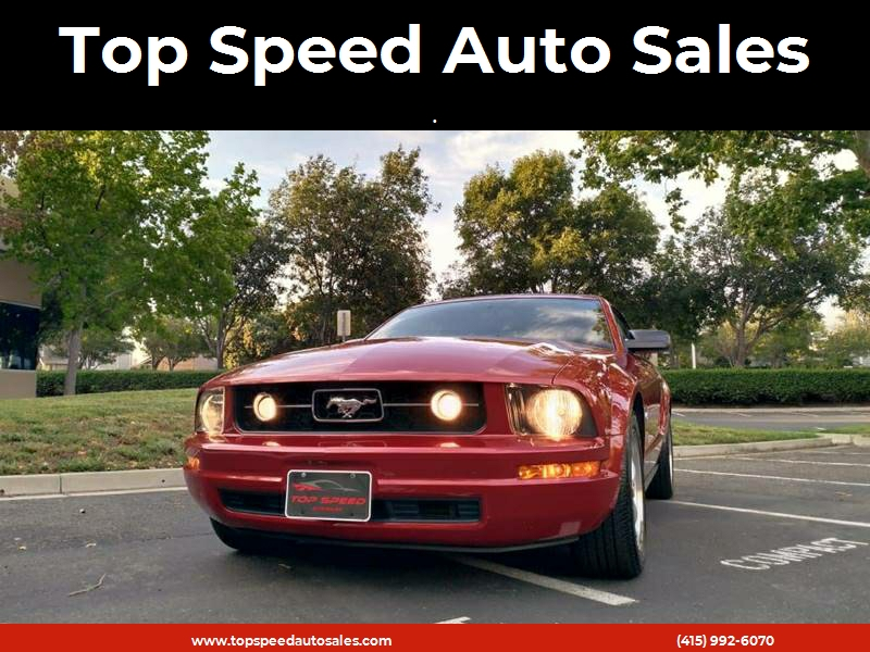 2008 Ford Mustang V6 >> 2008 Ford Mustang V6 Premium 2dr Convertible In Newark Ca