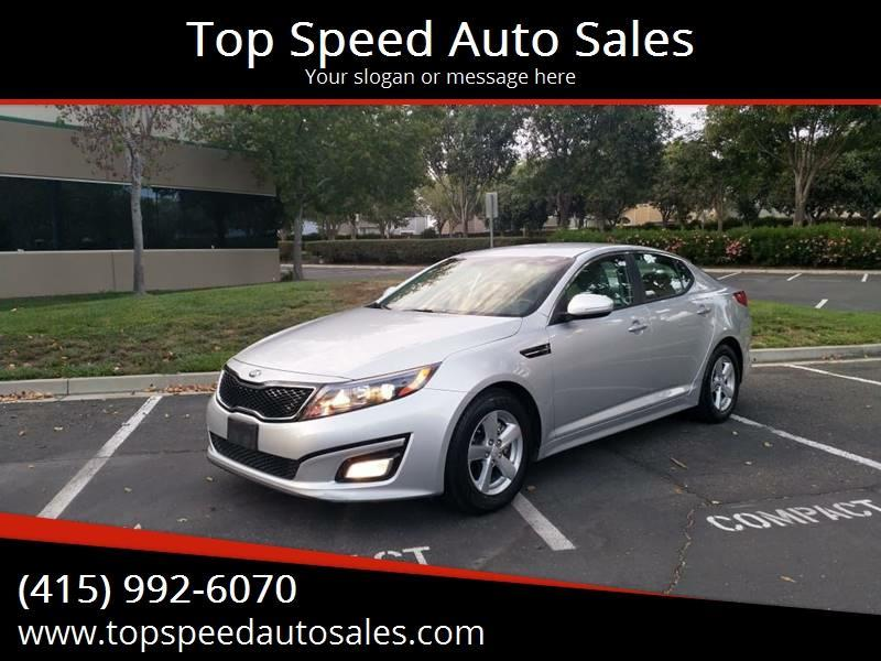 2015 Kia Optima LX 4dr Sedan - Newark CA