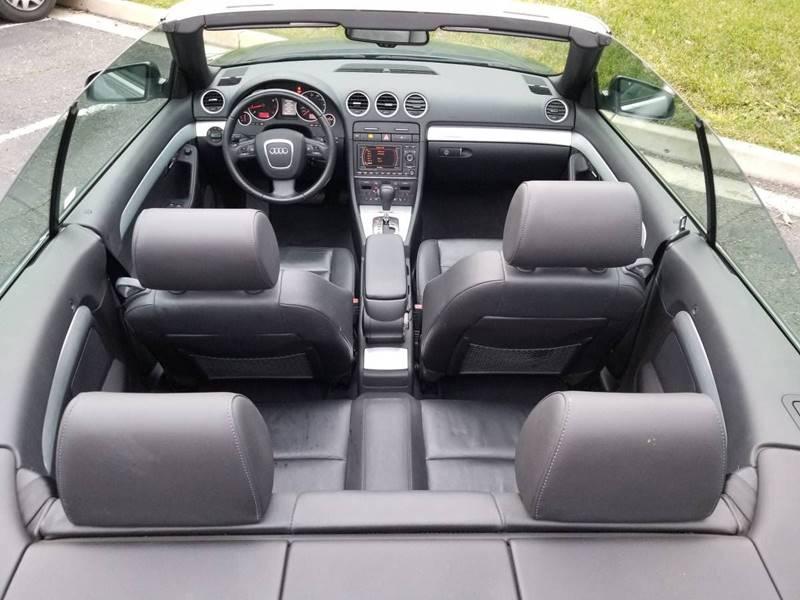 2007 Audi A4 AWD 3.2 quattro 2dr Convertible (3.1L V6 6A) - Newark CA