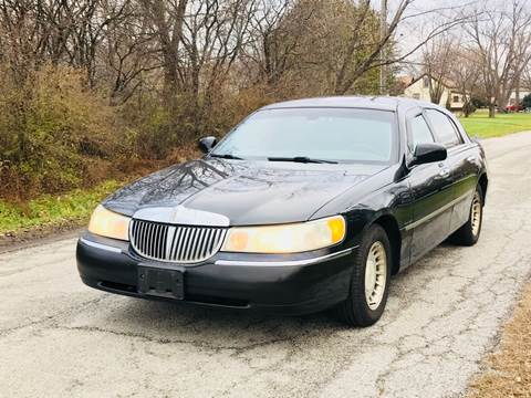 used lincoln town car for sale in illinois carsforsale com