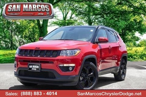 2018 Jeep Compass for sale in San Marcos, TX