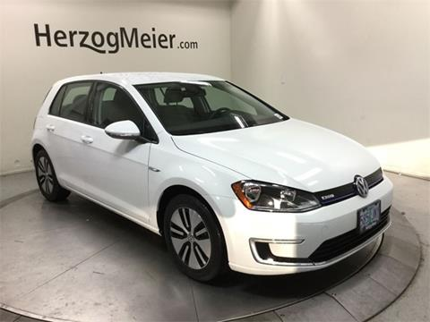 2016 Volkswagen e-Golf for sale in Beaverton, OR