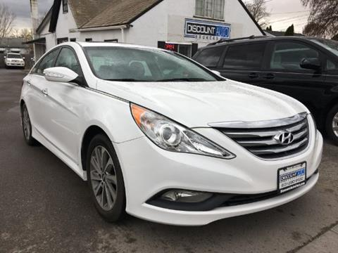 2014 Hyundai Sonata for sale at Discount Auto Brokers Inc. in Lehi UT