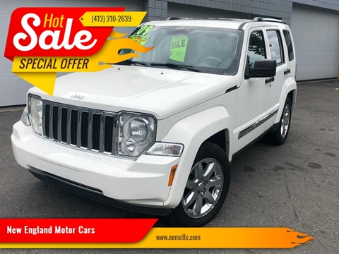 2009 Jeep Liberty for sale at New England Motor Cars in Springfield MA