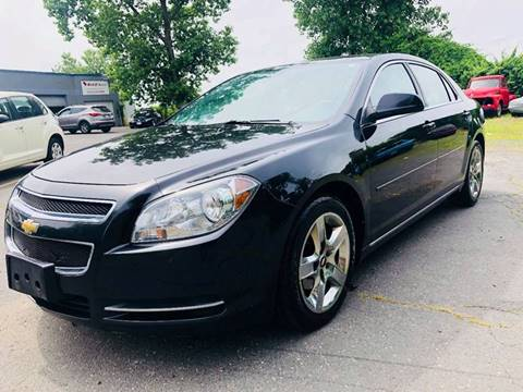 2010 Chevrolet Malibu for sale at New England Motor Cars in Springfield MA