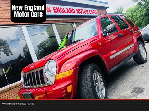 2006 Jeep Liberty for sale at New England Motor Cars in Springfield MA