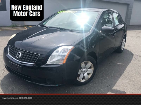 2007 Nissan Sentra for sale at New England Motor Cars in Springfield MA