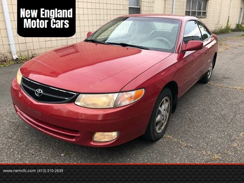 1999 Toyota Camry Solara for sale at New England Motor Cars in Springfield MA