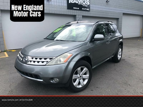 2007 Nissan Murano for sale at New England Motor Cars in Springfield MA