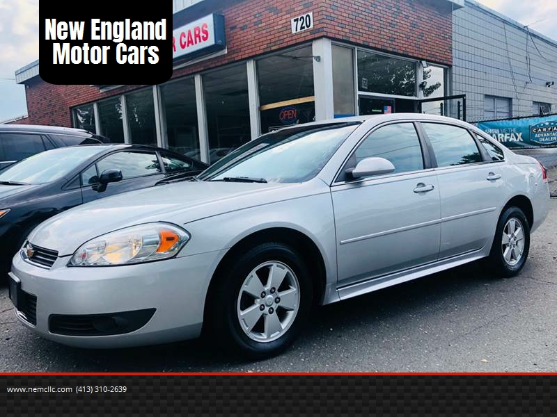 2010 Chevrolet Impala for sale at New England Motor Cars in Springfield MA