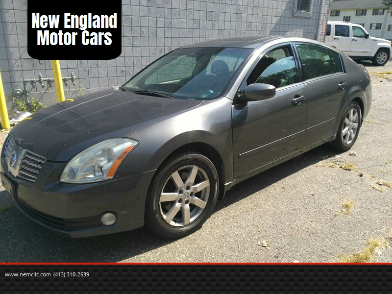 2006 Nissan Maxima For Sale At New England Motor Cars In Springfield MA