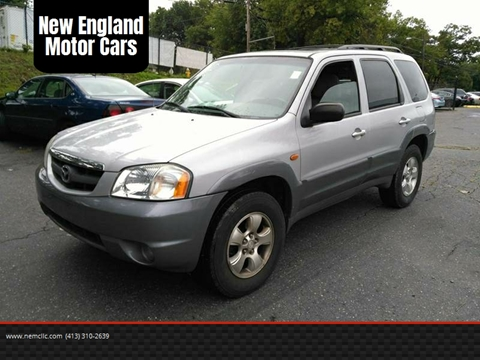 2002 Mazda Tribute for sale at New England Motor Cars in Springfield MA