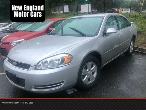 2006 Chevrolet Impala for sale at New England Motor Cars in Springfield MA