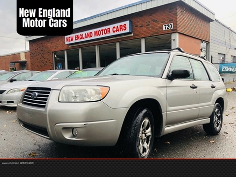 2006 Subaru Forester for sale at New England Motor Cars in Springfield MA