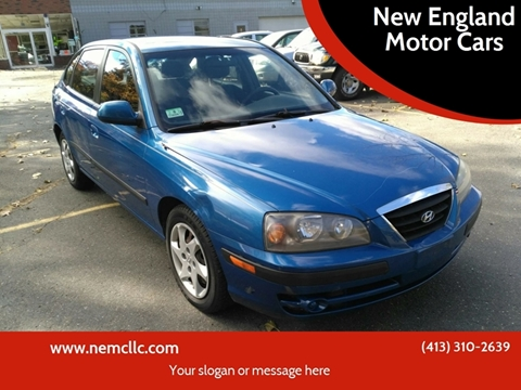 2006 Hyundai Elantra for sale at New England Motor Cars in Springfield MA