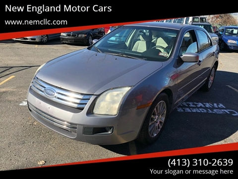 2006 Ford Fusion for sale at New England Motor Cars in Springfield MA