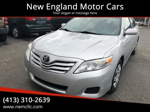 2010 Toyota Camry for sale at New England Motor Cars in Springfield MA