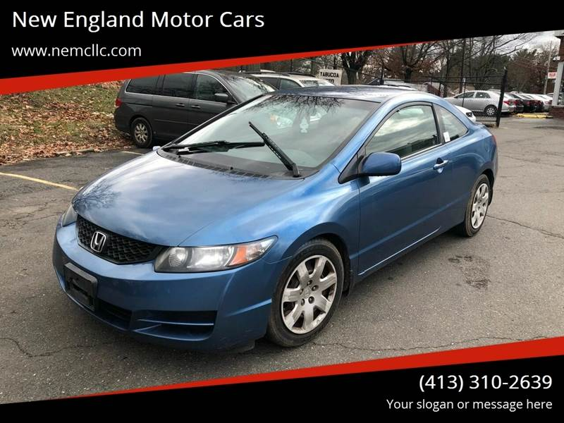 2011 Honda Civic for sale at New England Motor Cars in Springfield MA