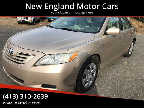 2008 Toyota Camry for sale at New England Motor Cars in Springfield MA