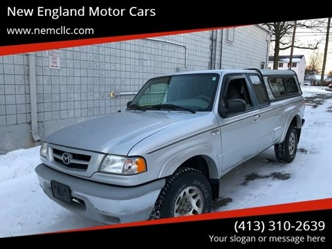 2002 Mazda Truck for sale at New England Motor Cars in Springfield MA