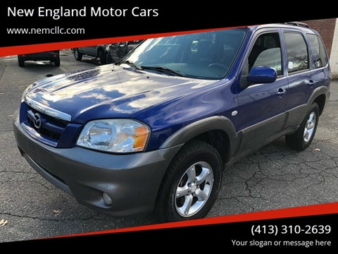 2006 Mazda Tribute for sale at New England Motor Cars in Springfield MA