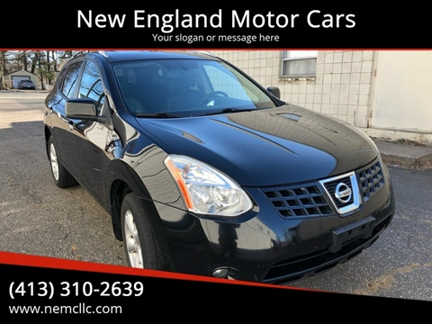 2009 Nissan Rogue for sale at New England Motor Cars in Springfield MA