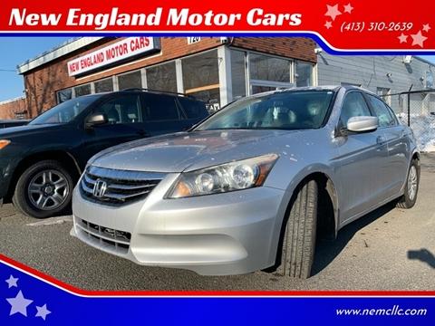2012 Honda Accord for sale in Springfield, MA