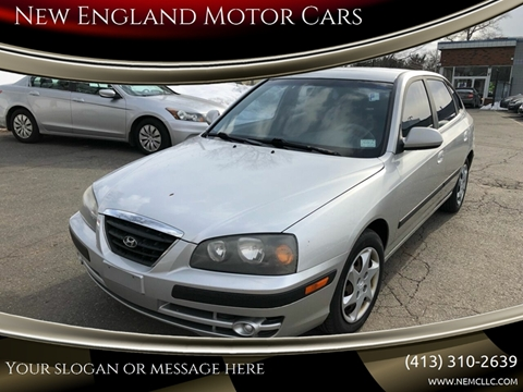 2005 Hyundai Elantra for sale at New England Motor Cars in Springfield MA