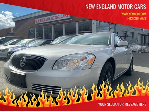 2006 Buick Lucerne for sale at New England Motor Cars in Springfield MA