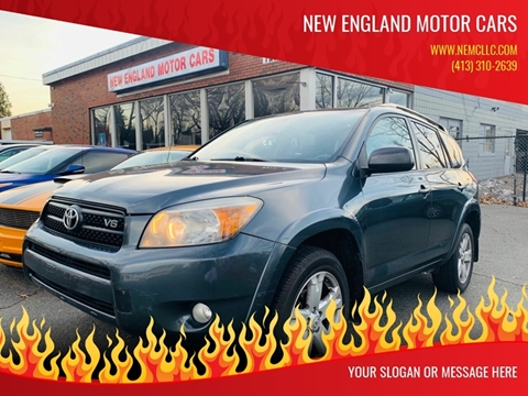 2007 Toyota RAV4 for sale at New England Motor Cars in Springfield MA