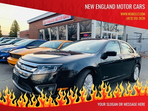 2010 Ford Fusion Hybrid for sale at New England Motor Cars in Springfield MA
