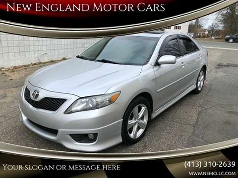 2011 Toyota Camry for sale at New England Motor Cars in Springfield MA