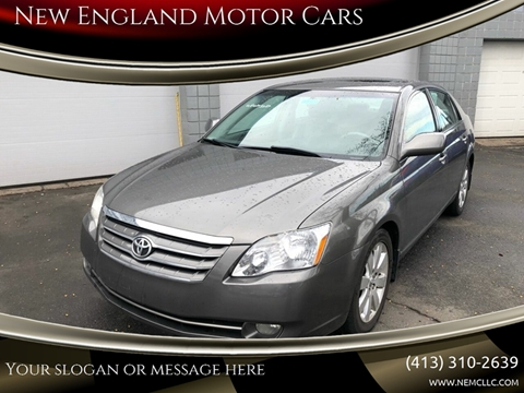 2006 Toyota Avalon for sale at New England Motor Cars in Springfield MA