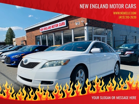 2007 Toyota Camry for sale at New England Motor Cars in Springfield MA