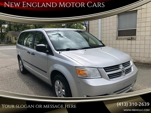 2008 Dodge Grand Caravan for sale at New England Motor Cars in Springfield MA