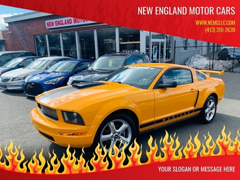 2008 Ford Mustang for sale at New England Motor Cars in Springfield MA