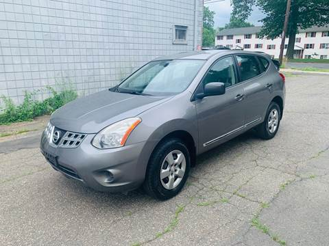 2012 Nissan Rogue for sale at New England Motor Cars in Springfield MA