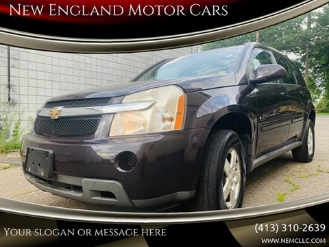 2007 Chevrolet Equinox for sale at New England Motor Cars in Springfield MA