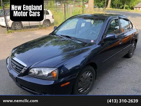 2005 Hyundai Elantra for sale at New England Motor Cars in Springfield MA