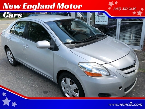 2007 Toyota Yaris for sale at New England Motor Cars in Springfield MA