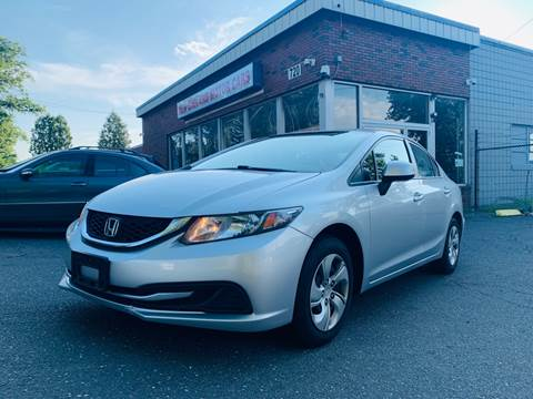 2013 Honda Civic for sale at New England Motor Cars in Springfield MA