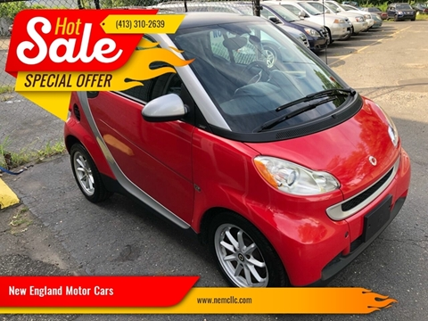 2009 Smart fortwo for sale at New England Motor Cars in Springfield MA