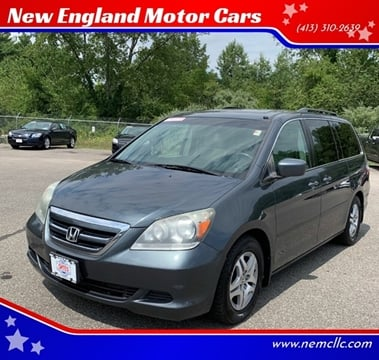 2006 Honda Odyssey for sale at New England Motor Cars in Springfield MA