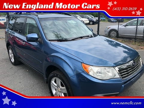 2009 Subaru Forester for sale at New England Motor Cars in Springfield MA