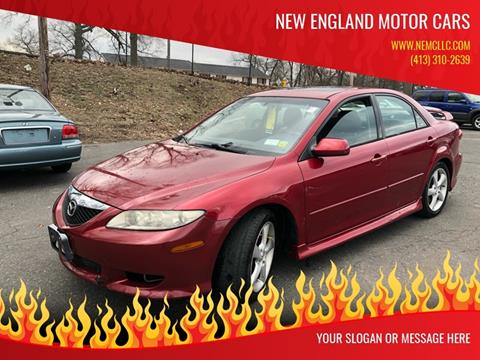 2004 Mazda MAZDA6 for sale at New England Motor Cars in Springfield MA