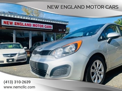 2012 Kia Rio 5-Door for sale at New England Motor Cars in Springfield MA
