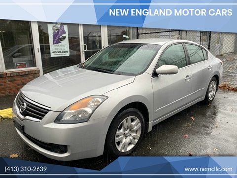2009 Nissan Altima for sale at New England Motor Cars in Springfield MA