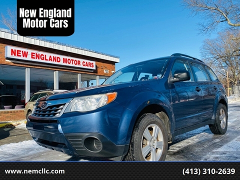 2011 Subaru Forester for sale at New England Motor Cars in Springfield MA