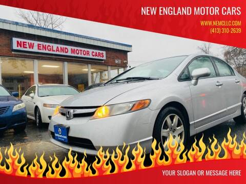 2006 Honda Civic for sale at New England Motor Cars in Springfield MA