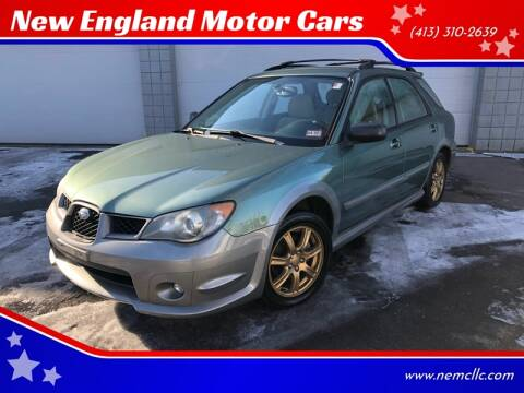 2006 Subaru Impreza for sale at New England Motor Cars in Springfield MA